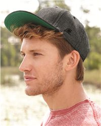 Original Chuck 26723-Chambray Flat Bill Snapback Cap