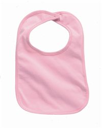Rabbit Skins 1005-Infant Jersey 1-Ply Velcro Bib