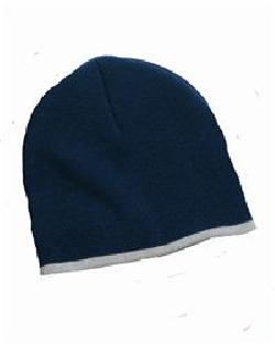 Sportsman SP09-8 Bottom Stripe Knit Cap