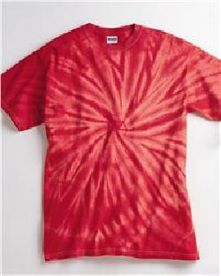 Tie-Dyed 200CY-Cyclone Pinwheel Short Sleeve T-Shirt