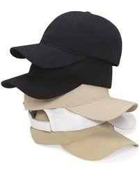 Valucap VC250-Unstructured Heavy Brushed Twill Cap with ...