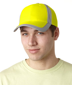 Adams RF102-Reflector High-Visibility Constructed Cap