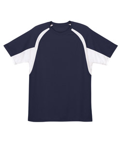 Badger 2144-Youth B-Dry Two-Tone Hook Performance Tee