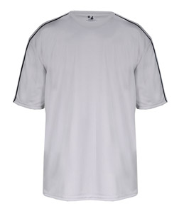 Badger 4148-Adult Razor Short Sleeve Contrast Piping Athletic Tee