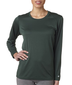 Badger 4164-Ladies B-Dry Core Long-Sleeve Tee