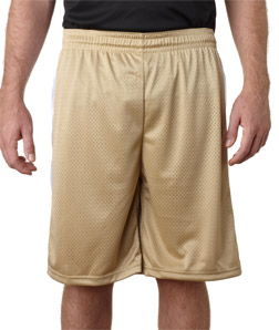 Badger 7241-Adult Challenger Poly Mesh 9-inch Shorts