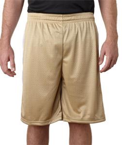 Badger 7241-Adult Challenger Poly Mesh 9-inch Shorts