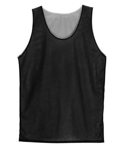 Badger B8539-Adult Poly Mini-Mesh Reversible Tank