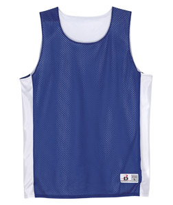 Badger B8559-Adult Mesh/Dazzle Reversible Poly Tank
