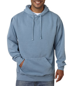 Chouinard 1567-Adult Hooded Garment-Dyed Blended Sweatshirt