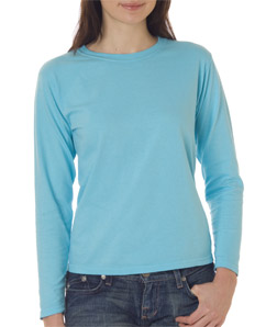 Chouinard 3014-Ladies Long-Sleeve Garment-Dyed Tee