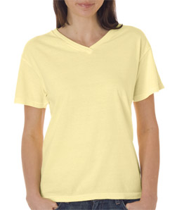 Chouinard 3099-Ladies V-Neck Tee
