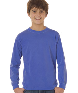 Chouinard 3483-Youth Long-Sleeve Tee