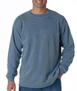 Chouinard 6014-Adult Heavyweight Garment-Dyed Long-Sleeve ...