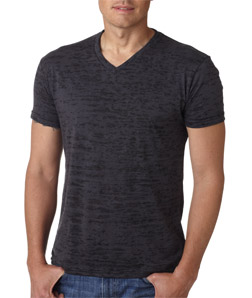 Next Level 6140-Mens Poly/Cotton Burnout V