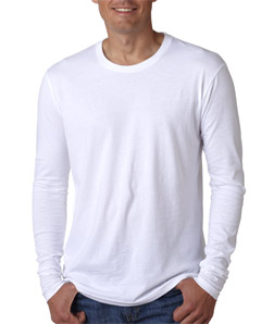 Next Level N3601-Mens Long-Sleeve Cotton Crew