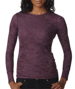 Next Level N8511-The Ladies Poly/Cotton Burnout Thermal