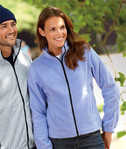 UltraClub 8481-Ladies Iceberg Fleece Full-Zip Jacket