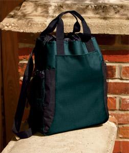 UltraClub 7291-Backpack Tote