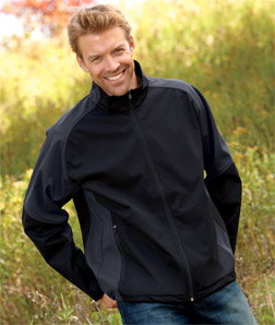 UltraClub 8275-Adult Soft Shell Jacket