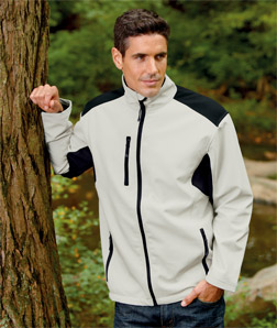 UltraClub 8479-Mens Soft Shell Jacket