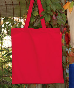 UltraClub 9860-Recycled Cotton Canvas Tote