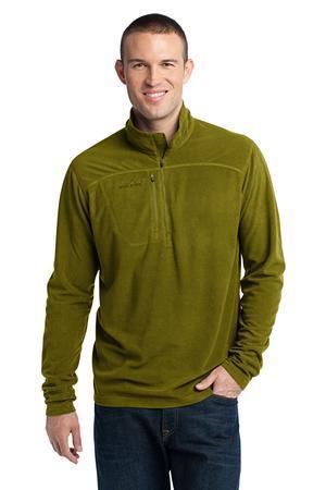 Eddie Bauer® EB220 1/4-Zip Grid Fleece Pullover