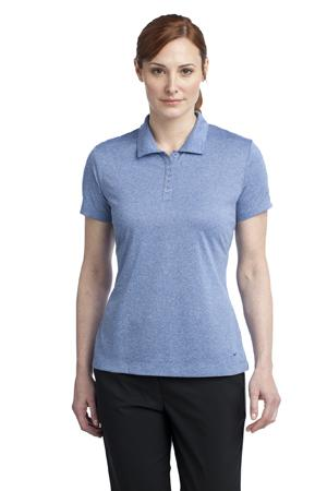 Nike Golf 474455 Ladies Dri-FIT Heather Polo