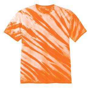 Port & Company® PC148Y中青年青少年基础款虎斑条纹扎染T恤