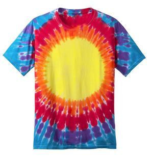 Port & Company® PC149Y Youth Essential Window Tie-Dye Tee