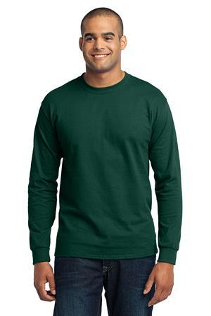 Port & Company® PC55LS Long Sleeve 50/50 Cotton/...