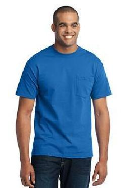 Port & Company® PC55P 50/50 Cotton/Poly T-Shirt with Pocket