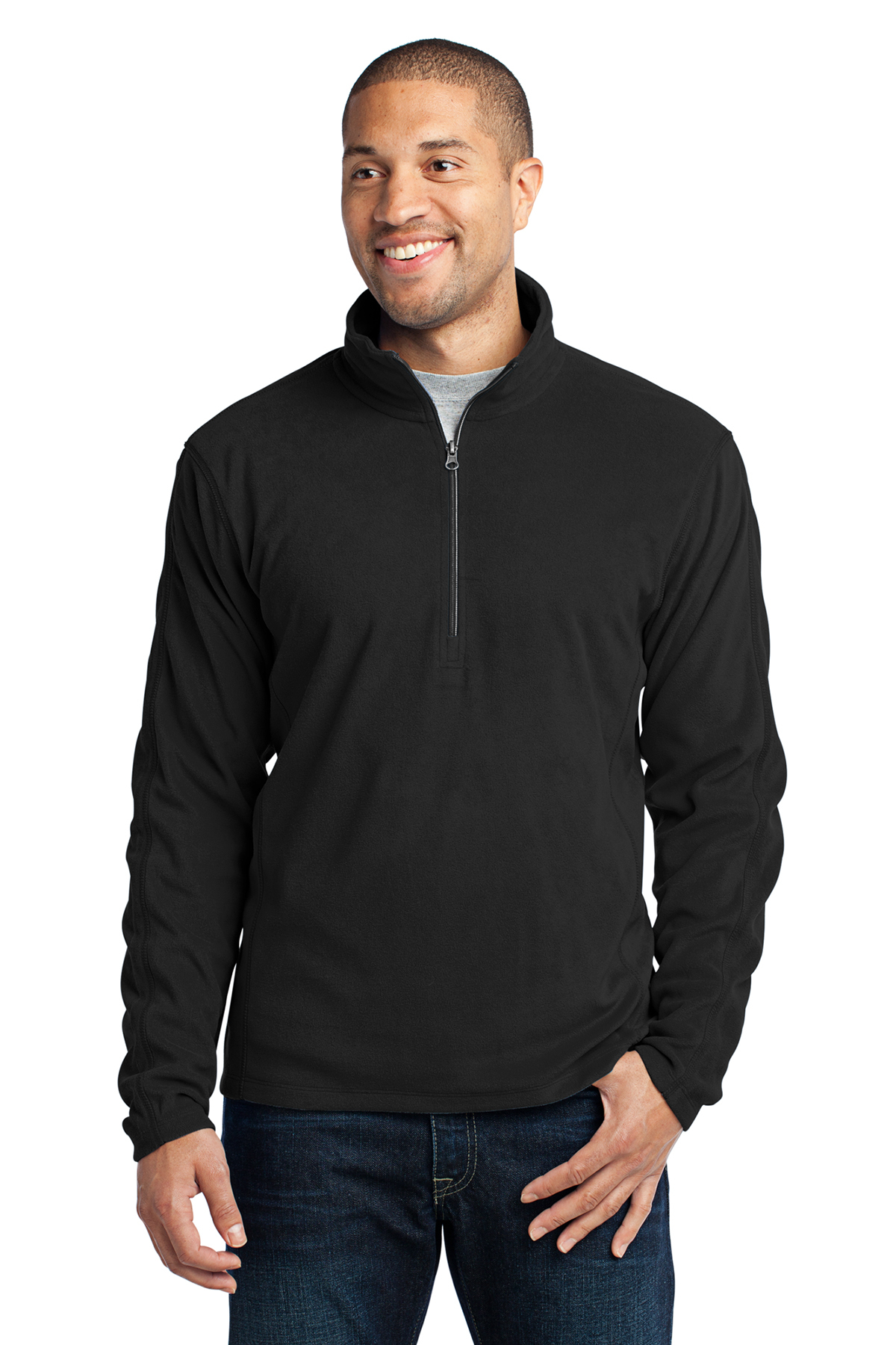 Port Authority® F224 Microfleece 1/2-Zip Pullover