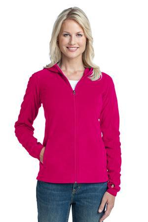 Port Authority® L225 Ladies Microfleece Hoodie