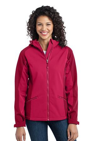 Port Authority® L312 Ladies Gradient Hooded Soft ...