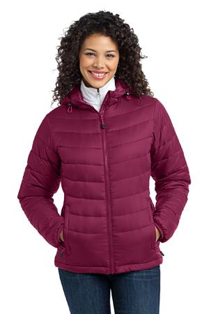 Port Authority® L313 Ladies Mission Hooded Puffy ...