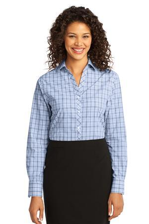 Port Authority® L641 Ladies Crosshatch Plaid Easy ...