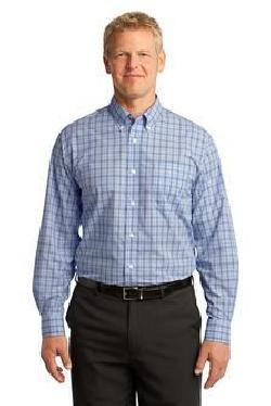 Port Authority® S641 Crosshatch Plaid Easy Care ...