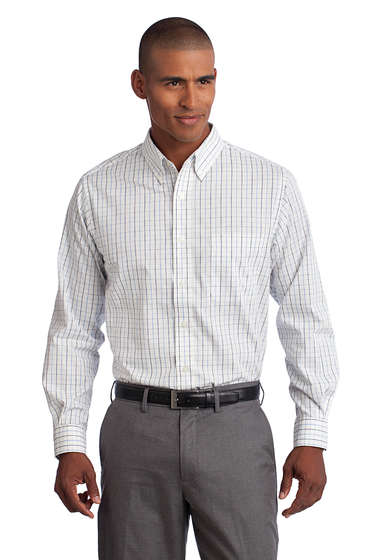 Port Authority® S642 Tattersall Easy Care Shirt