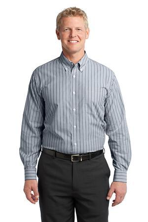 Port Authority® S643 Vertical Stripe Easy Care Shirt