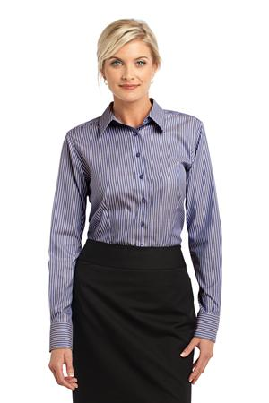Red House® RH65 Ladies Stripe Non-Iron Pinpoint ...