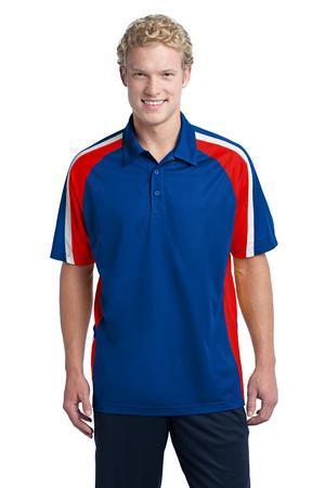 Sport-Tek® ST654 Tricolor Micropique Sport-Wick® Polo