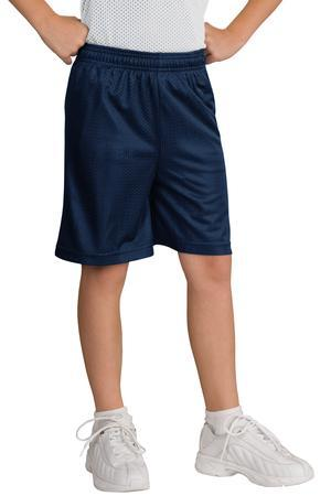 Sport-Tek® YST510 Youth PosiCharge Classic Mesh™ Short
