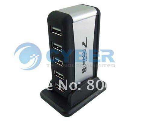 Cyber 149 - USB 2.0 7 Port HUB Powered +US AC Adapter ...
