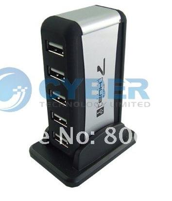 Cyber 162 - High Speed USB 2.0 7 Port HUB Powered +EU ...