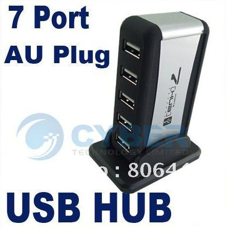 Cyber 161 - High Speed USB 2.0 7 Port HUB Powered and ...