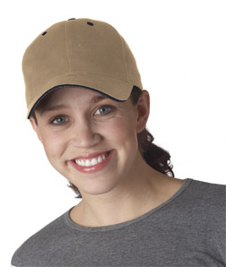 Yupoong 6262 - Brushed Cotton Twill Sandwich Cap