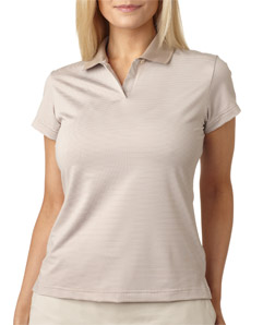 ADIDAS A120 - Ladies' ClimaLite Classic Stripe Polo