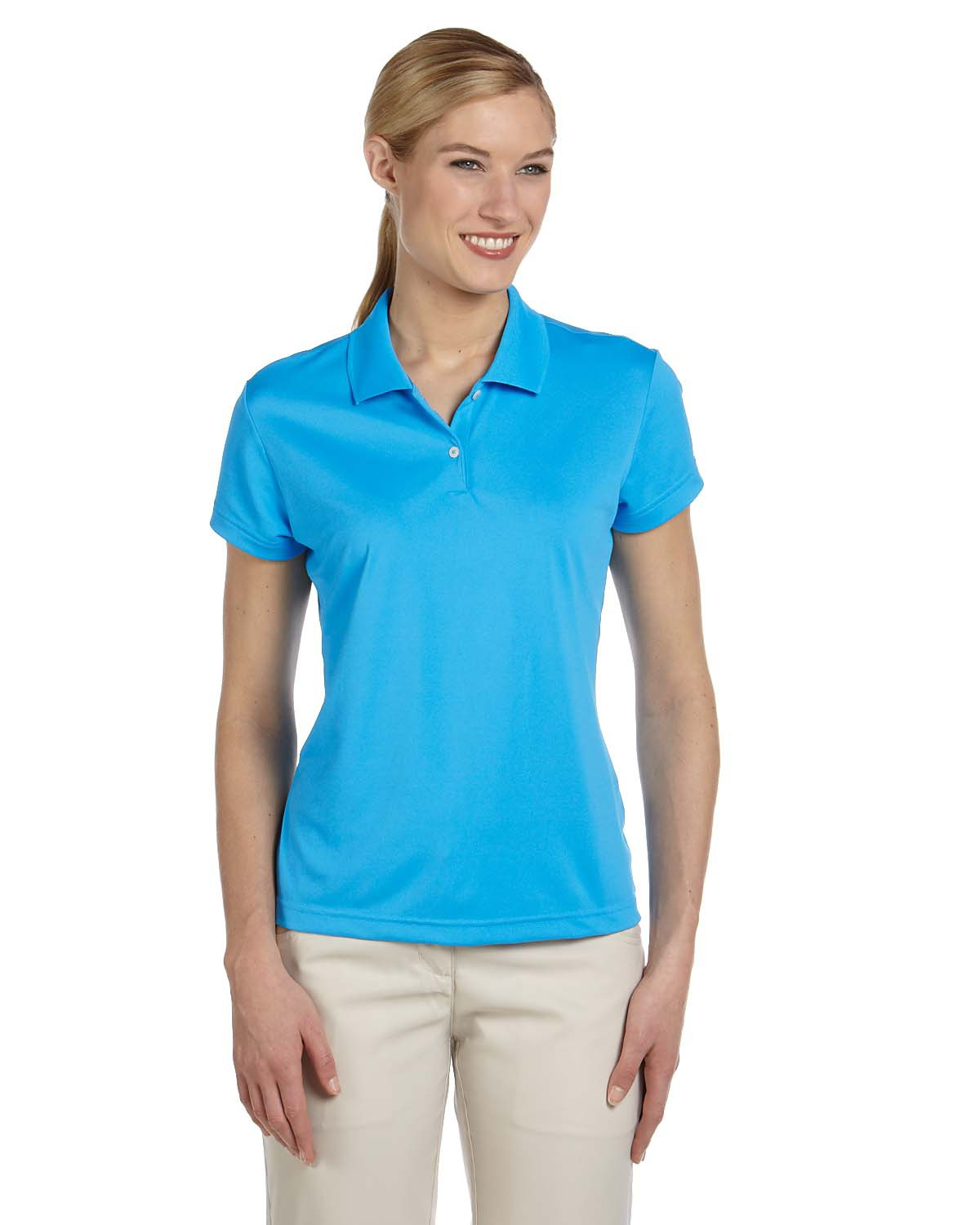 ADIDAS A122 - Ladies' ClimaLite Pique Polo