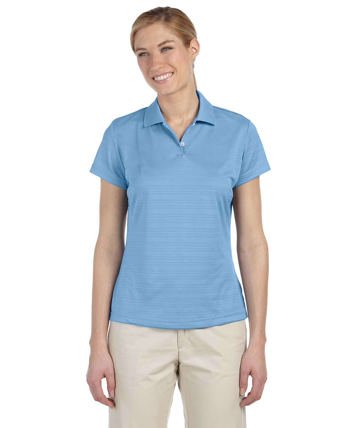 ADIDAS A162 - Ladies' ClimaLite Textured Solid Polo